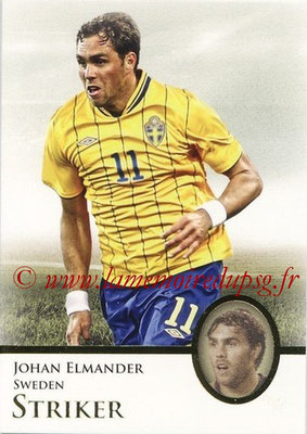2013 - Futera World Football Unique - N° 074 - Johan ELMANDER (Suède) (Striker)