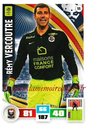 2016-17 - Panini Adrenalyn XL Ligue 1 - N° 055 - Rémy VERCOUTRE (Caen)