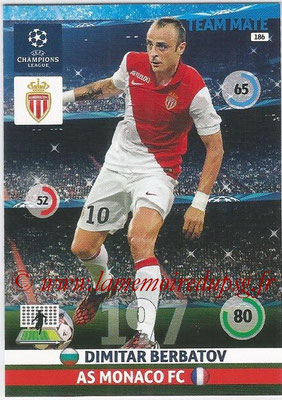 2014-15 - Adrenalyn XL champions League N° 186 - Dimitar BERBATOV (AS Monaco)