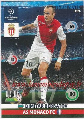 2014-15 - Adrenalyn XL champions League N° 186 - Dimitar BERBATOV (AS Monaco)