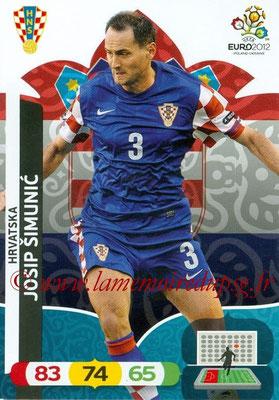Panini Euro 2012 Cards Adrenalyn XL - N° 104 - Josip SIMUNIC (Croatie)