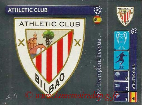 2014-15 - Panini Champions League N° 035 - Logo Athletic Club Bilbao