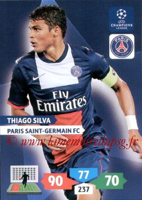 2013-14 - Adrenalyn XL champions League N° 227 - Thiago SILVA (Paris Saint-Germain)