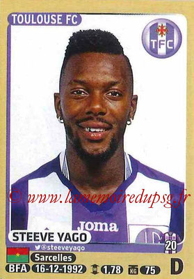 2015-16 - Panini Ligue 1 Stickers - N° 443 - Steeve YAGO (Toulouse FC)site