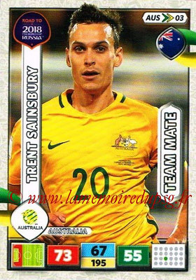 2018 - Panini Road to FIFA World Cup Russia Adrenalyn XL - N° AUS03 - Trent SAINSBURY (Australie)