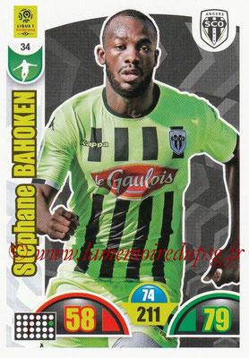 2018-19 - Panini Adrenalyn XL Ligue 1 - N° 034 - Stéphane BAHOKEN (Angers)