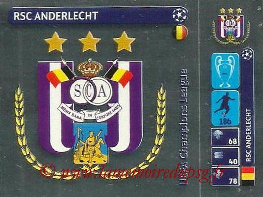 2014-15 - Panini Champions League N° 020 - Logo RSC Anderlecht