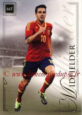 2014 - Futera World Football Unique - N° 038 - Cesc FABREGAS (Midfielder)