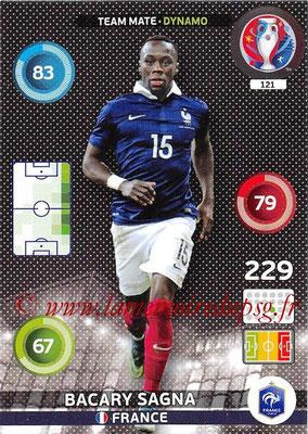 Panini Euro 2016 Cards - N° 121 - Bacary SAGNA (France) (Dynamo)