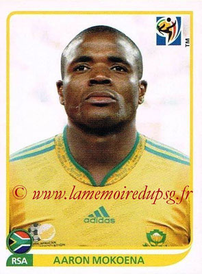 2010 - Panini FIFA World Cup South Africa Stickers - N° 038 - Aaron MOKOENA (Afrique du Sud)