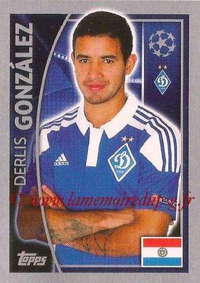 2015-16 - Topps UEFA Champions League Stickers - N° 489 - Derlis GONZALEZ (FC Dynamo Kiev)