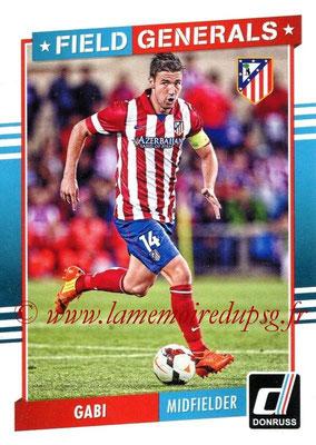 2015 - Panini Donruss Soccer - N° FG03 - GABI (Atletico Madrid) (Field Generals)