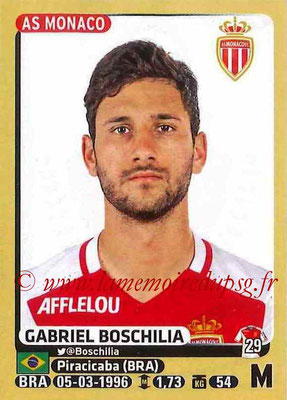 2015-16 - Panini Ligue 1 Stickers - N° 254 - Gabriel BOSCHILIA (AS Monaco)