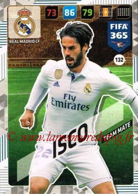 2017-18 - Panini FIFA 365 Cards - N° 132 - ISCO (Real Madrid CF)