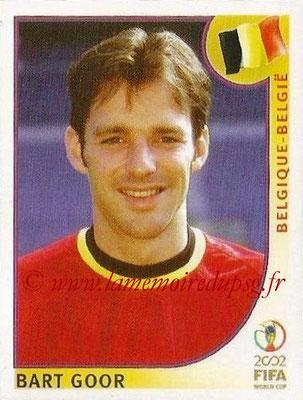 2002 - Panini FIFA World Cup Stickers - N° 561 - Bart GOOR (Belgique)