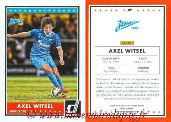 2015 - Panini Donruss Soccer - N° 082 - Axel WITSEL (FC Zenit)
