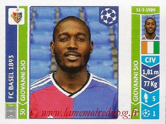 2014-15 - Panini Champions League N° 143 - Giovanni SIO (FC Bâle)