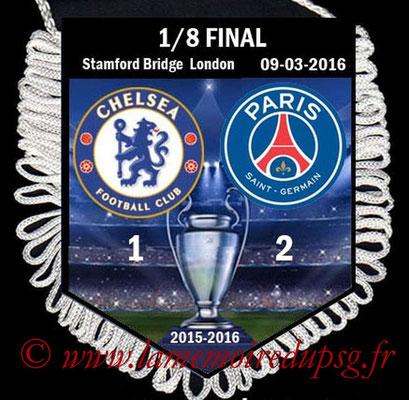 Fanion  Chelsea-PSG  2015-16