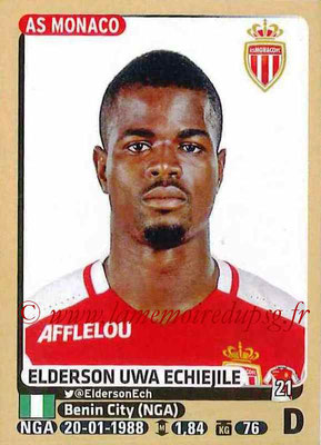 2015-16 - Panini Ligue 1 Stickers - N° 248 - Elderson UWA ECHIEJILE (AS Monaco)