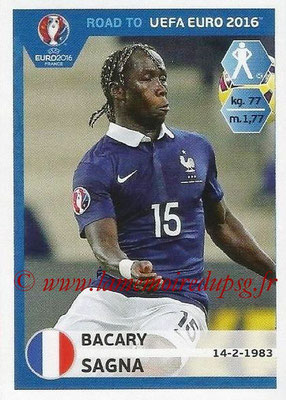 Panini Road to Euro 2016 Stickers - N° 101 - Bacary SAGNA (France)