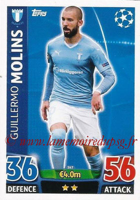 2015-16 - Topps UEFA Champions League Match Attax - N° 367 - Guillermo MOLINS (Malmö FF)