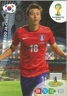 2014 - Panini FIFA World Cup Brazil Adrenalyn XL - N° 239 - Koo JA-CHEOL (Corée)
