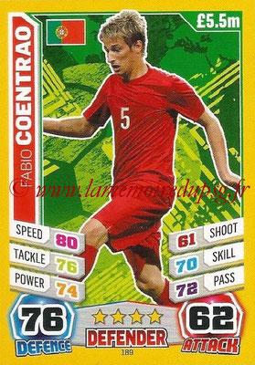 Topps Match Attax England 2014 - N° 189 - Fabio COENTRAO (Portugal)