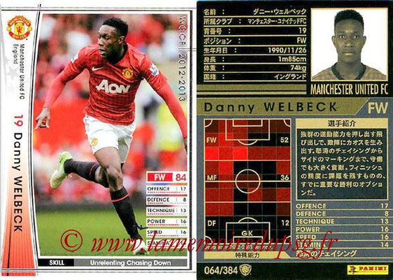 2012-13 - WCCF - N° 064 - Danny WELBECK (Manchester United FC)