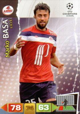 2011-12 - Panini Champions League Cards - N° 121 - Marko BASA (Lille)