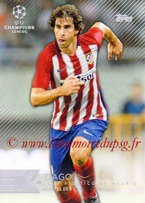 2015-16 - Topps UEFA Champions League Showcase Soccer - N° 064 - TIAGO (Club Atletico de Madrid)
