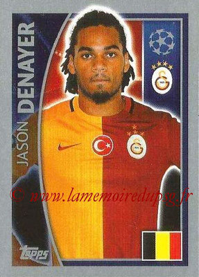 2015-16 - Topps UEFA Champions League Stickers - N° 194 - Jason DENAYER (Galatasaray AS)