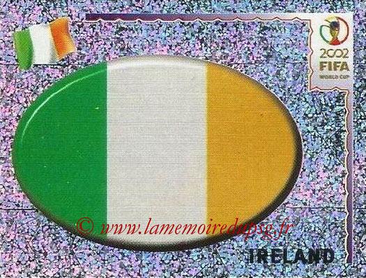 2002 - Panini FIFA World Cup Stickers - N° 350 - Logo Irlande