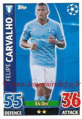 2015-16 - Topps UEFA Champions League Match Attax - N° 363 - Felipe CARVALHO (Malmö FF)