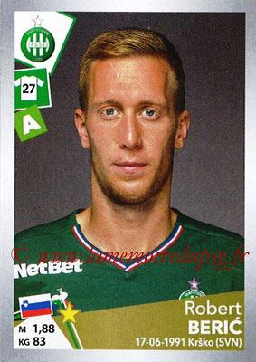 2017-18 - Panini Ligue 1 Stickers - N° T33 - Robert BERIC (Saint-Etienne) (Transfert)