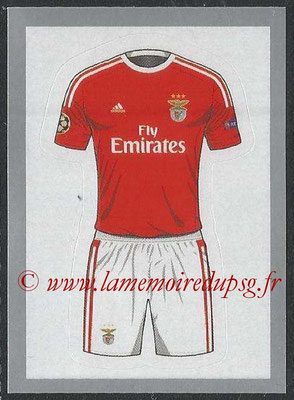 2015-16 - Topps UEFA Champions League Stickers - N° 149 - Maillot Domicile SL Benfica
