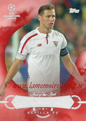 2015-16 - Topps UEFA Champions League Showcase Soccer - N° BB-GK - Grzegorz KRYCHOWIAK (FC Seville) (Best of the Best)