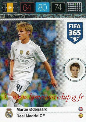 2015-16 - Panini Adrenalyn XL FIFA 365 - N° 219 - Martin ODEGAARD (Real Madrid CF) (One to Watch)