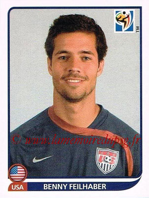 2010 - Panini FIFA World Cup South Africa Stickers - N° 212 - Benny FEILHABER (Etats Unis)