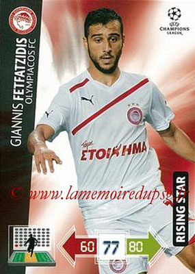2012-13 - Adrenalyn XL champions League N° 189 - Giannis FETFAZIDIS (Olympiacos FC) (Rising Star)