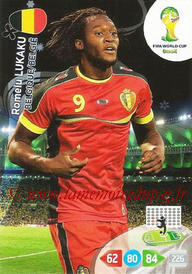 2014 - Panini FIFA World Cup Brazil Adrenalyn XL - N° 036 - Romelu LUKAKU (Belgique)