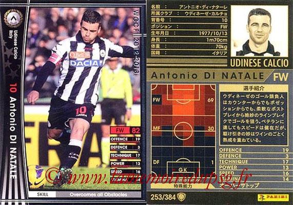 2012-13 - WCCF - N° 253 - Antonio DI NATALE (Udinese  Calcio)
