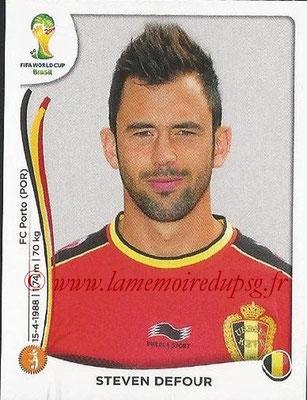 2014 - Panini FIFA World Cup Brazil Stickers - N° 572 - Steven DEFOUR (Belgique)