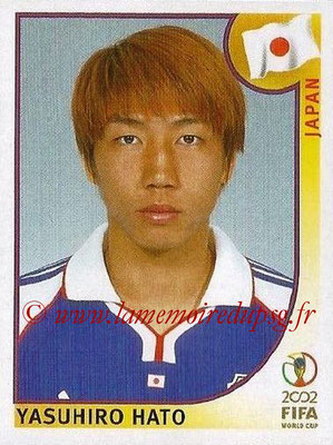 2002 - Panini FIFA World Cup Stickers - N° 535 - Yasuhiro HATO (Japon)