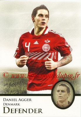 2013 - Futera World Football Unique - N° 009 - Daniel AGGER (Danemark) (Defender)