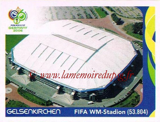 2006 - Panini FIFA World Cup Germany Stickers - N° 008 - Gelsenkirchen - FIFA WM-Stadion