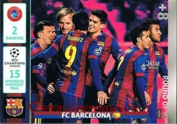 2014-15 - Adrenalyn XL champions League Update edition N° UE003 - FC Barcelone (Round of 16)