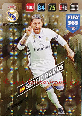 2017-18 - Panini FIFA 365 Cards - N° LE-SR - Sergio RAMOS (Real Madric CF) (Limited Edition)