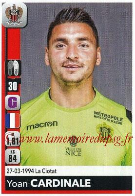2018-19 - Panini Ligue 1 Stickers - N° 303 - Yoan CARDINALE (Nice)