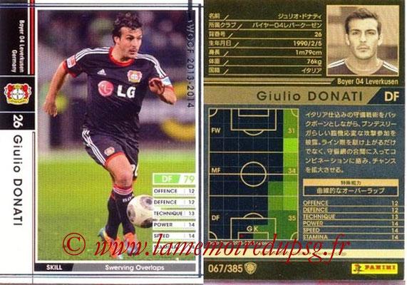 2013-14 - WCCF - N° 067 - Giulio DONATI (Bayer 04 Leverkusen)