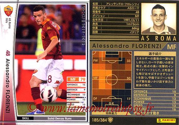 2012-13 - WCCF - N° 185 - Alessandro FLORENZI (AS Roma)